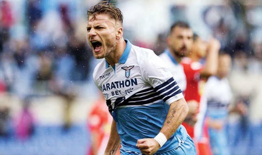 Lazio superó 4-1 al SPAL
