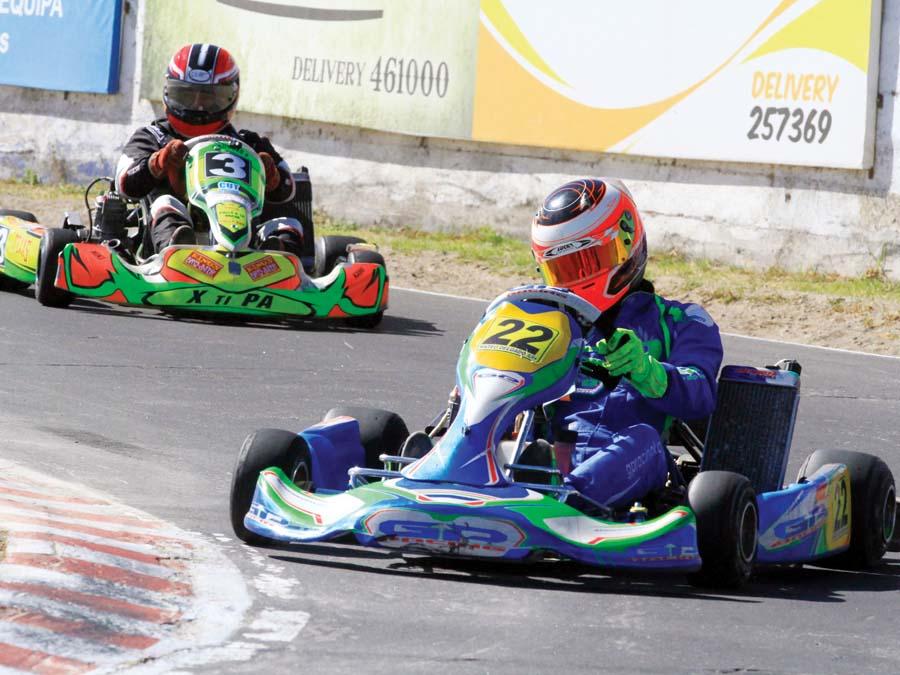 Mateo Delgado, del equipo CARP y Asociados, 3M, GP Racing