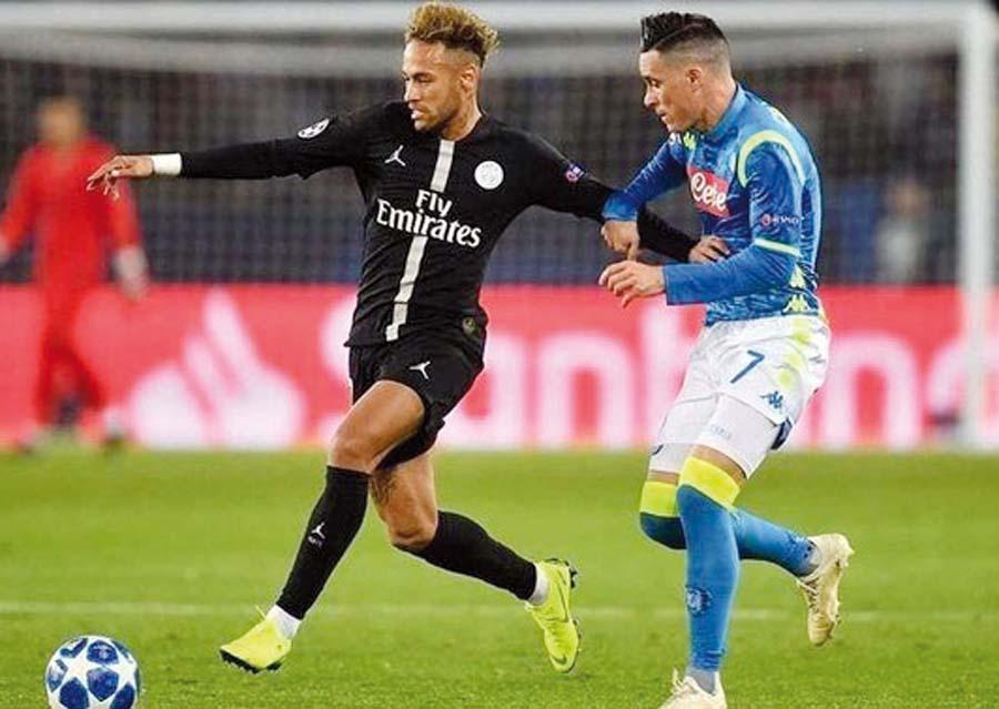 Napoli se enfrenta al PSG