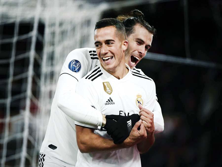 Real Madrid derrotó de visita 2-0 a la Roma
