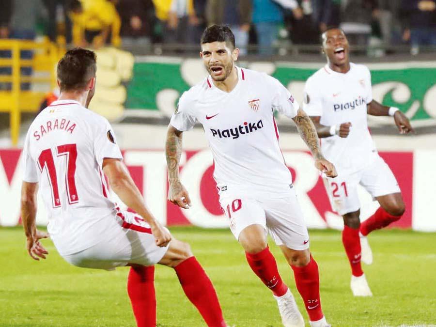 Sevilla de visita venció 3-2 a Akhisar