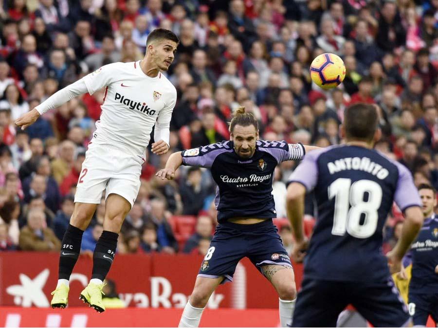 Sevilla vencio 1-0 al Real Valladolid