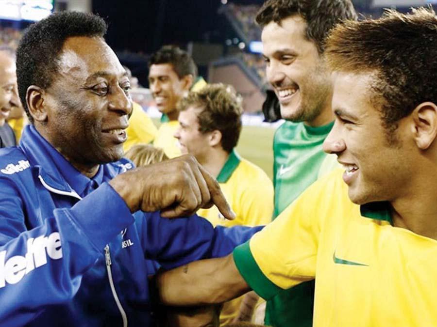 'Rey del fútbol' Pelé