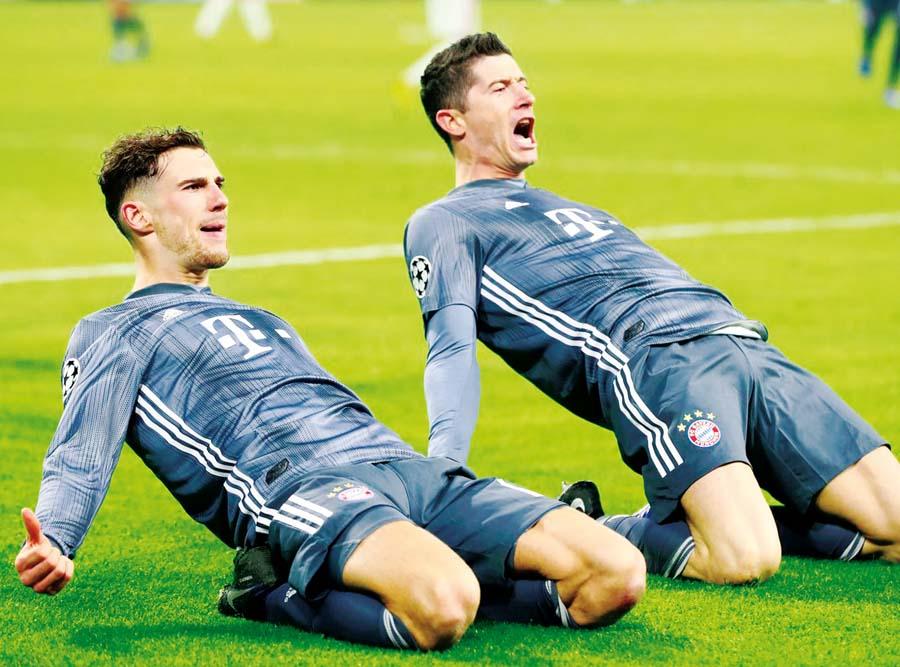 Ajax y Bayern Múnich