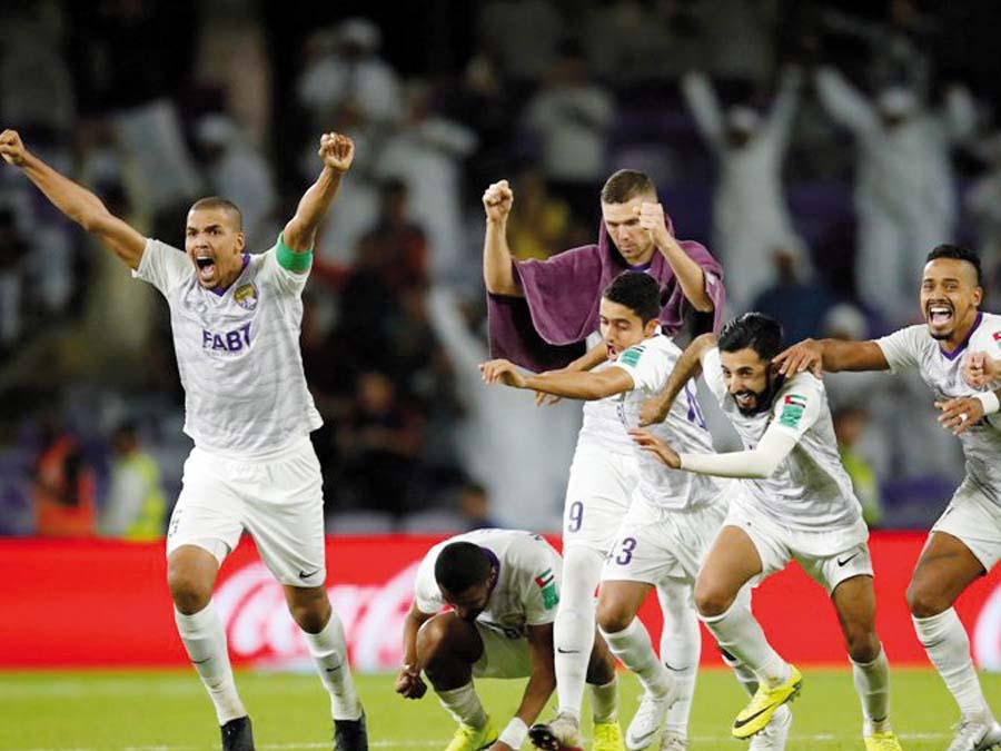 Al Ain venció por penales 4-3 al Team Wellington