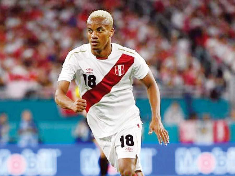 André Carrillo fue el mejor en el Mundial