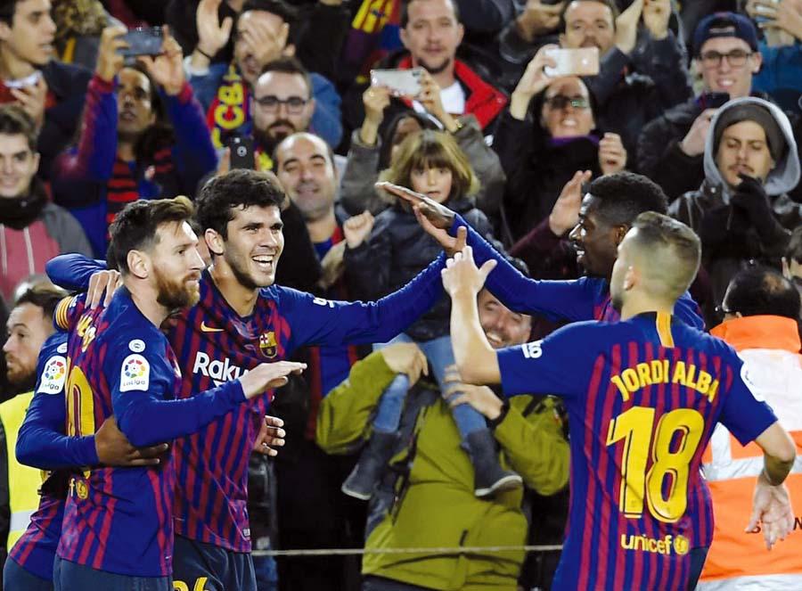 Barcelona derrotó por 2 – 0 a Villareal