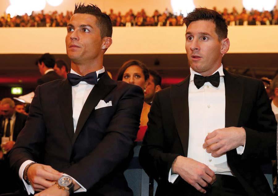 Cristiano Ronaldo y Lionel Messi veránla final entre River Plate y Boca Juniors