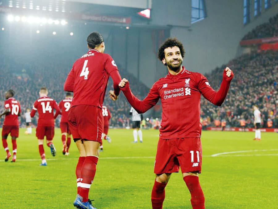 Liverpool aplastó 4 – 0 al Newcastle