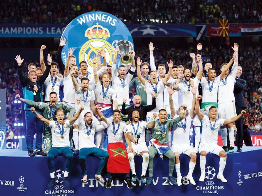 REAL MADRID SE LLEVO LA CHAMPIONS LEAGUE