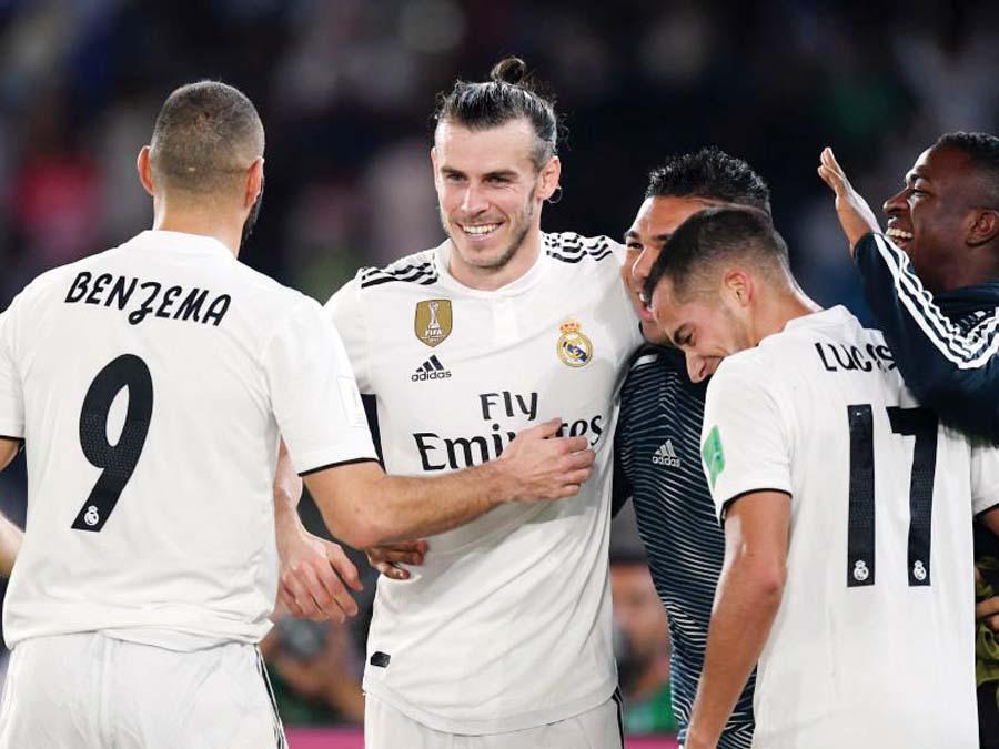 Real Madrid venció 3-1 al Kashima