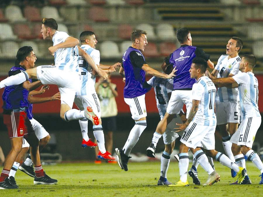 Argentina se bajó a Uruguay