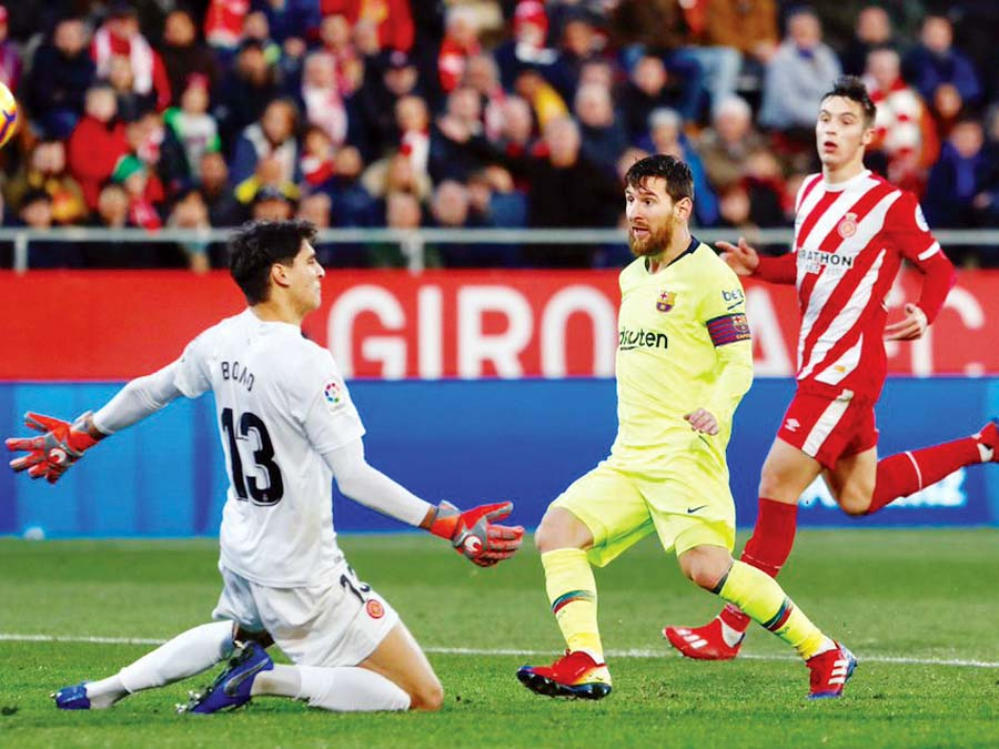 Barcelona superó de visita 2-0 al Girona