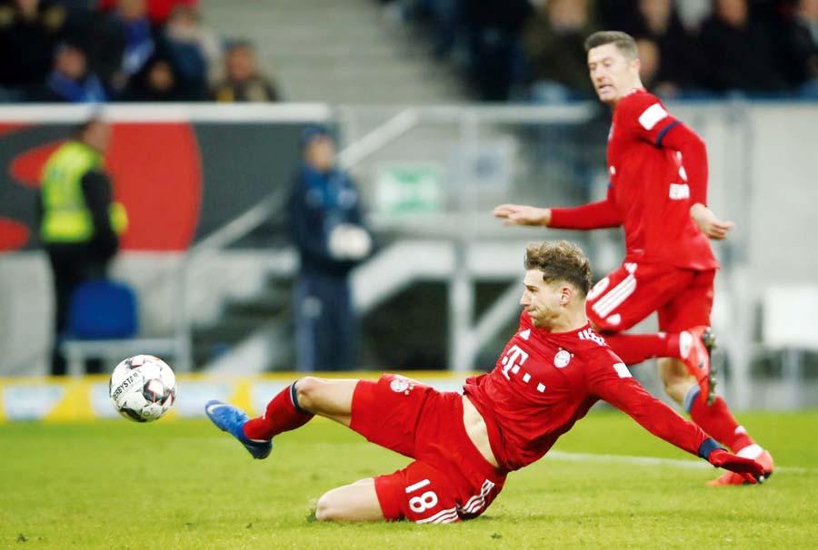 Bayern Múnich venció de visita 3-1 al Hoffenheim