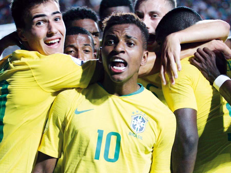 Brasil venció 2-1 a Venezuela (Sudamericano Sub-20)