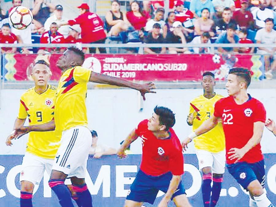 Colombia por 1-0 a Chile