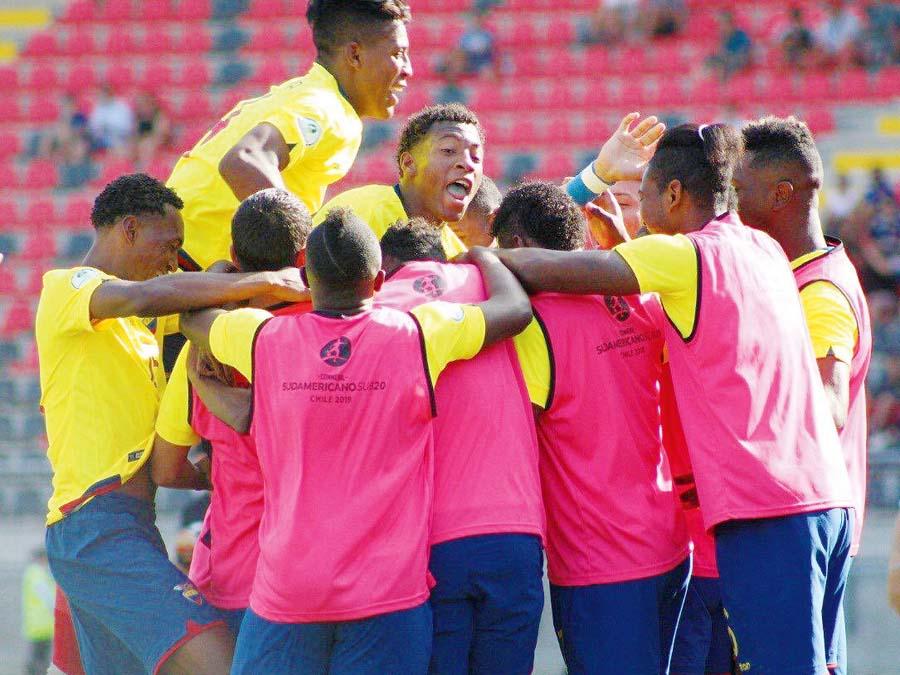 Ecuador derrotó 1-0 a Argentina