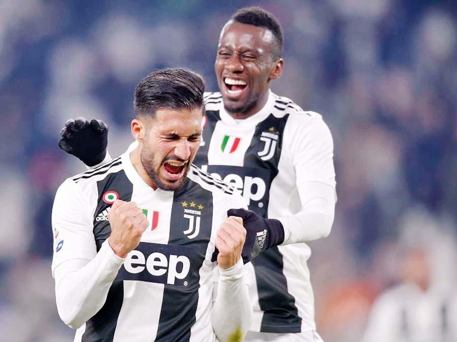Juventus goleó 3-0 al Chievo