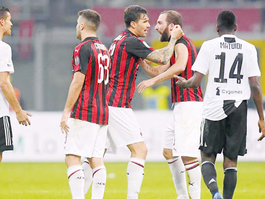 La Juventus y el Milan