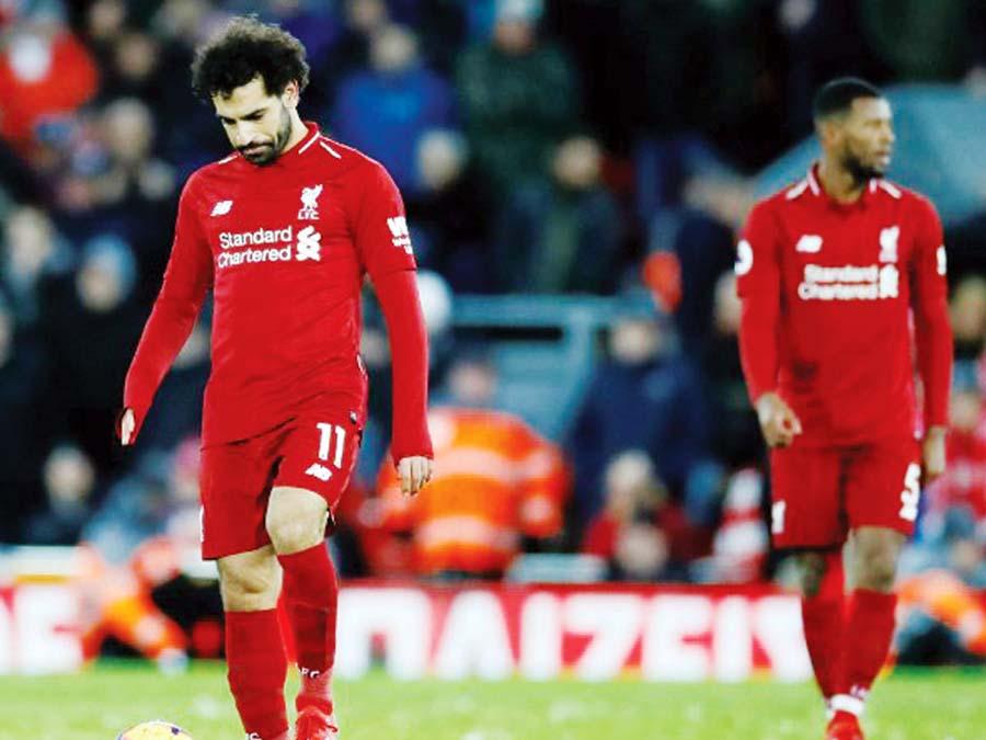 Liverpool empato 1-1 ante el Leicester City