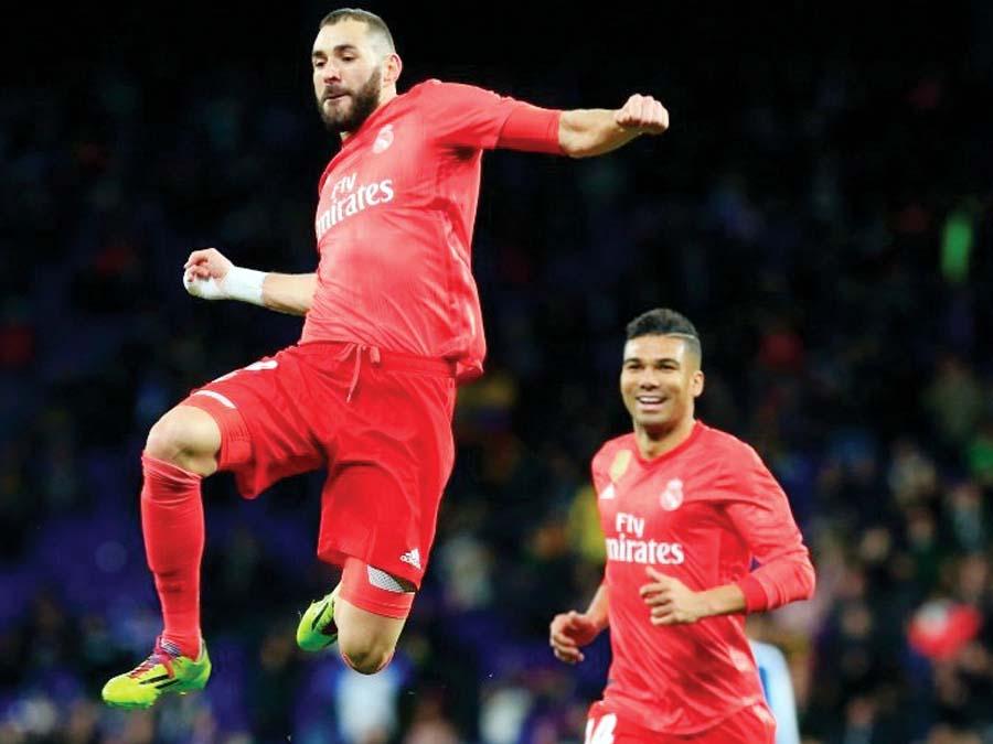 Madrid goleó de visita 4-2 al Espanyol