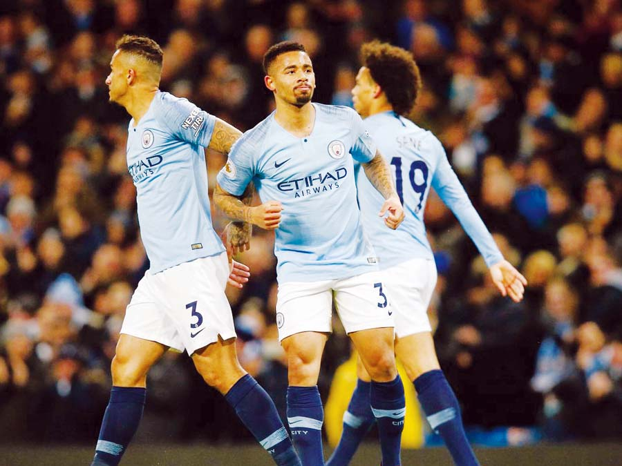 Manchester City goleó 3-0 al Wolverhampton Wanderers