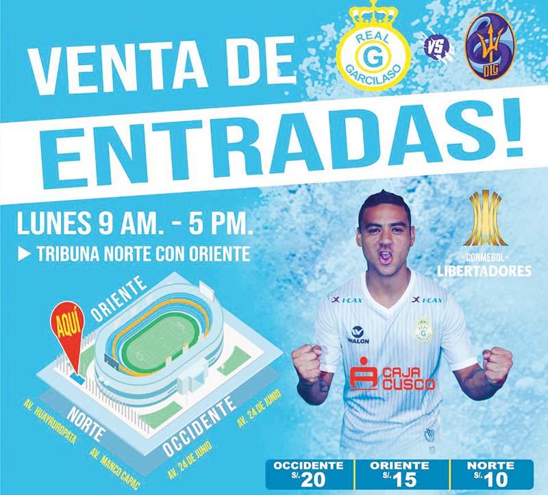 Real Garcilaso enfrenta se ante Deportivo La Guaira