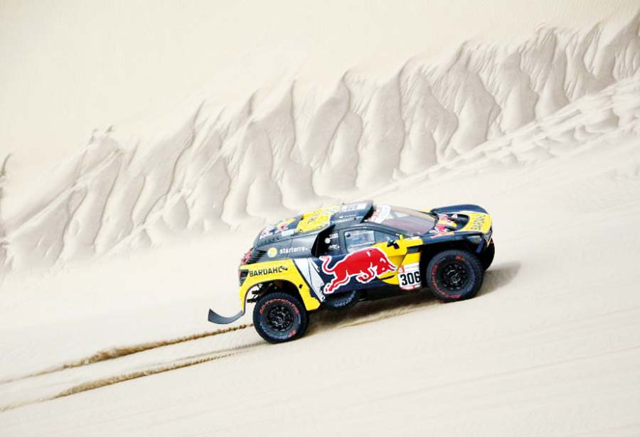 Sébastien demostró toda su categoría a bordo de su Peugeot