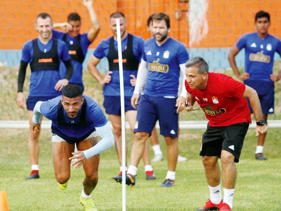 Sporting Cristal entrenamientos