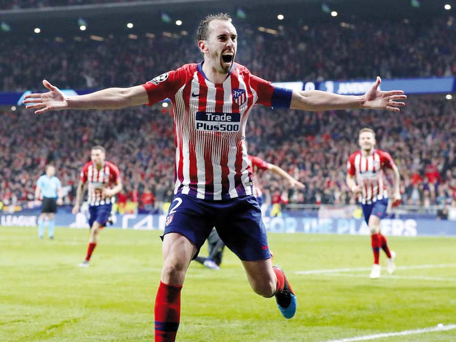 Atlético de Madrid le ganó 2-0 a la Juventus