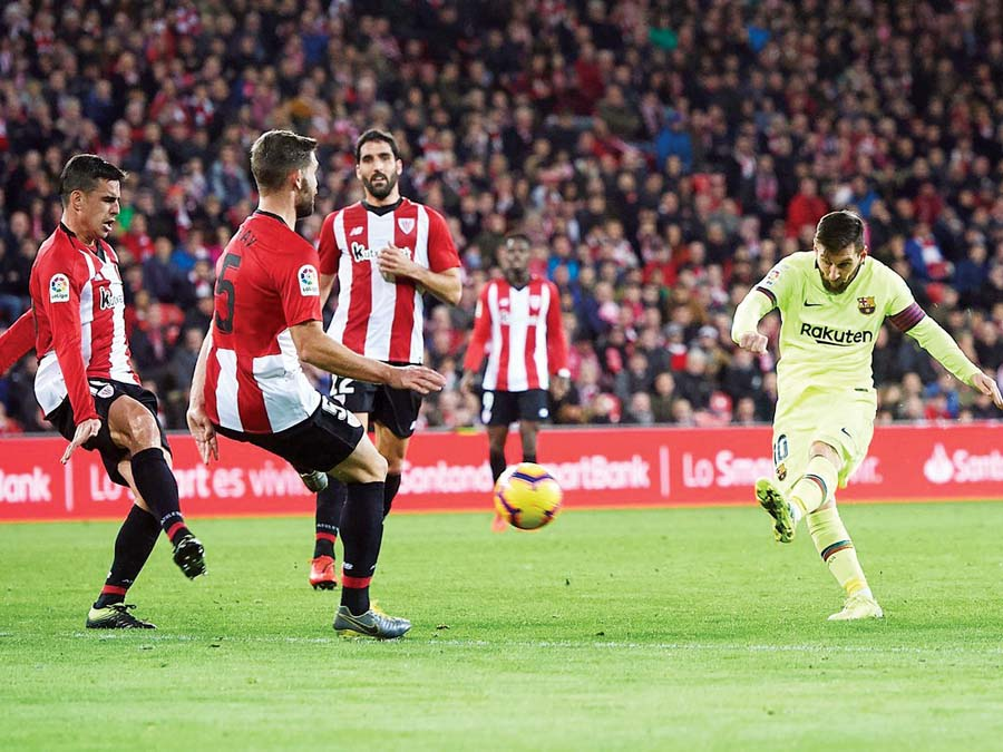 Barcelona empató de visita 0-0 ante el Athletic Bilbao