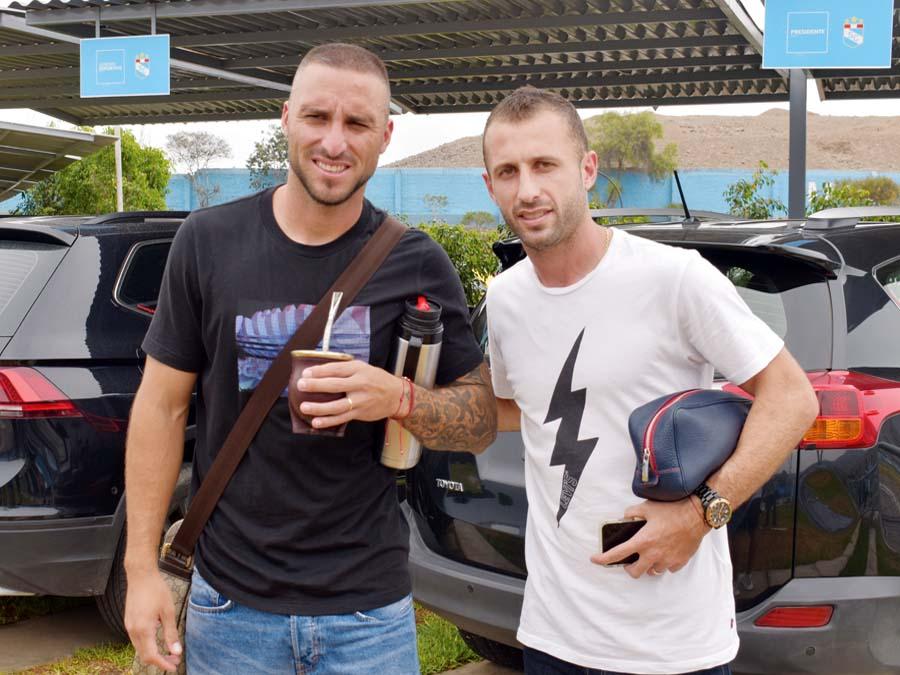Emanuel Herrera y Horacio Calcaterra