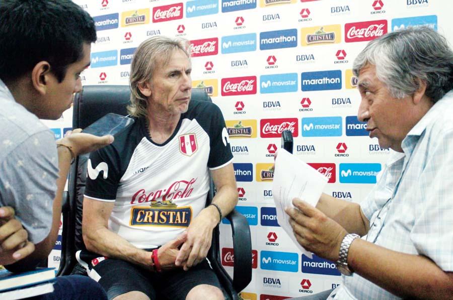 Entrevista a Ricardoi Gareca por Fenando Jimenez