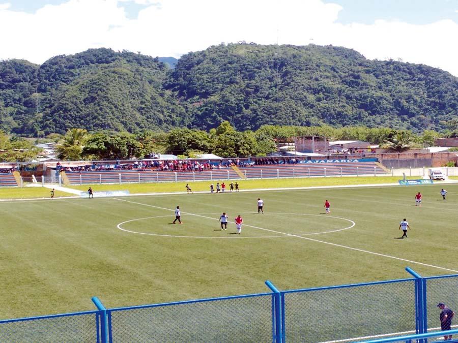 Estadio IPD de Nueva Cajamarca