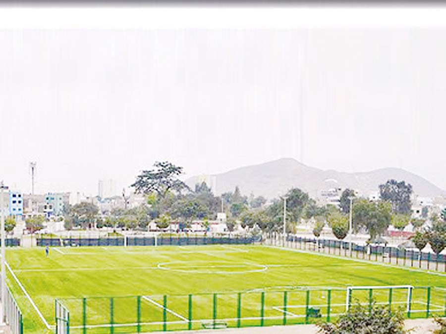 Estadio del Parque Ecológico Mayta Cápac