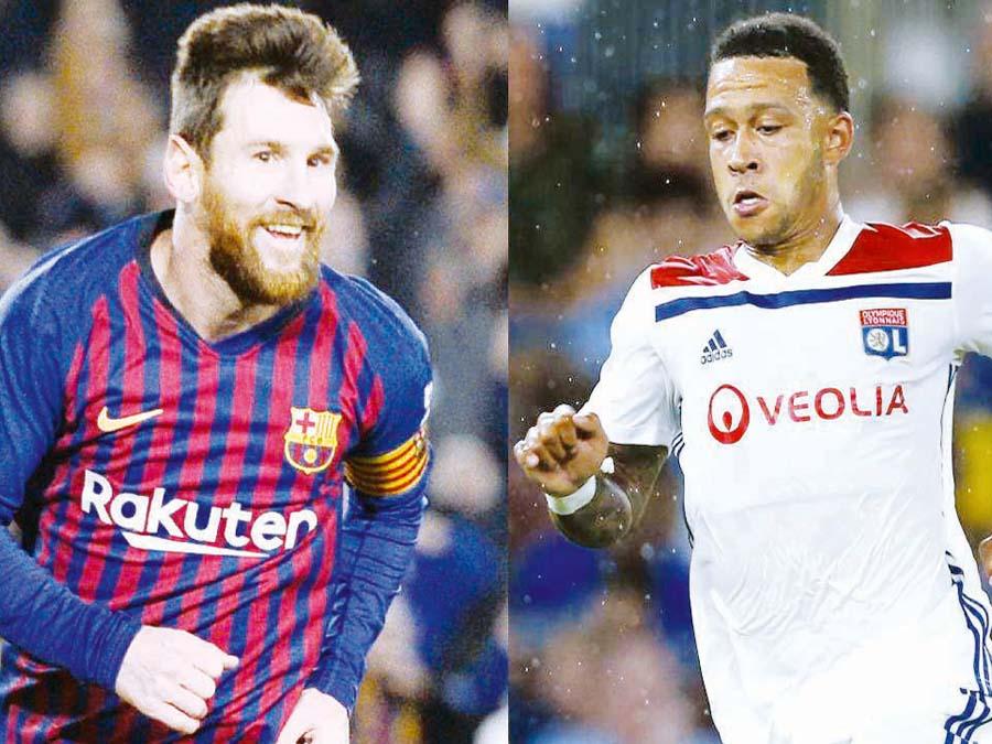 FCB Barcelona visitará al Olympique Lyon