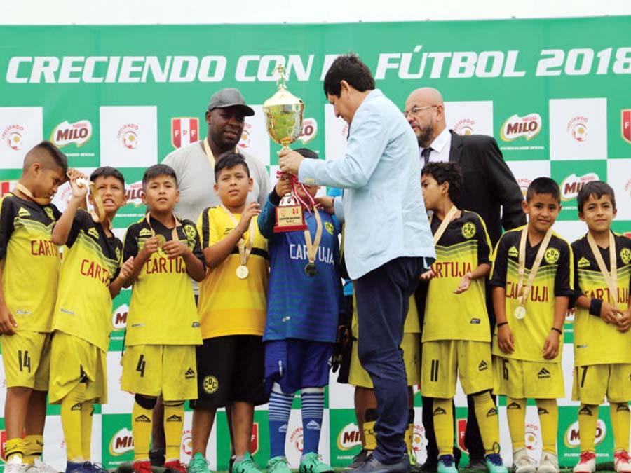 Final Nacional en Chancay