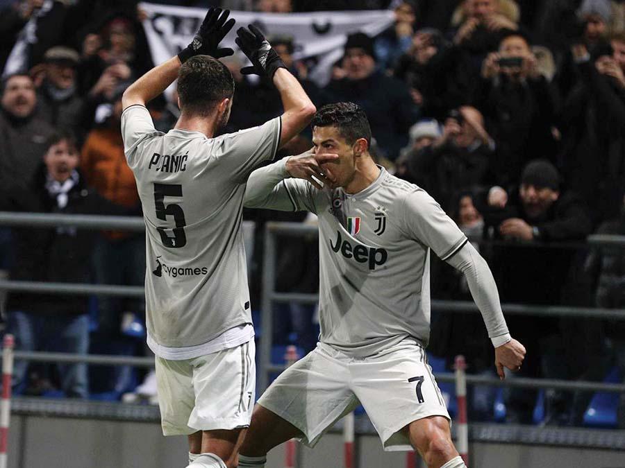Juventus derrotó 3-0 al Sassuolo