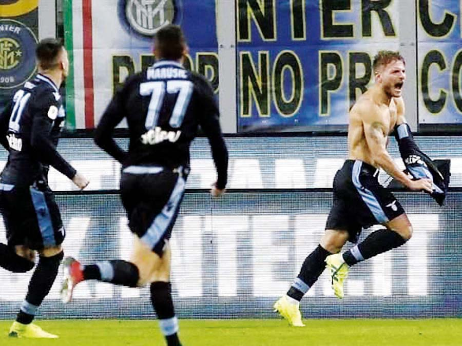 Lazio eliminó por penales 4-3 al Inter