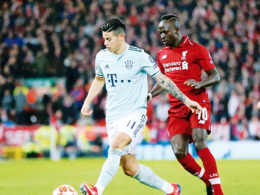 Liverpool y Bayern Múnich empataron
