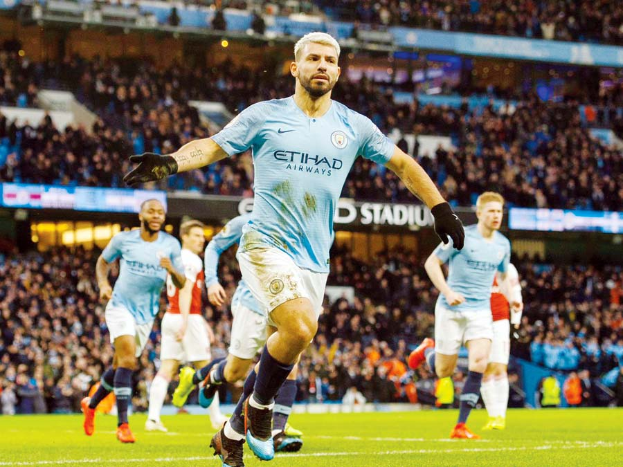 Manchester City por 3-1 ante el Arsenal