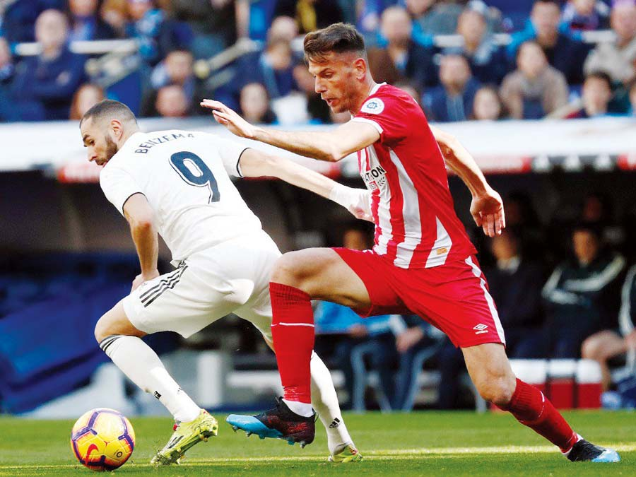 Real Madrid cayó 2-1 ante el Girona