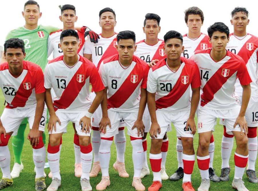 Selección peruana sub 17