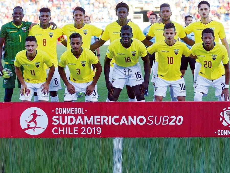 Seleccion Sub 20 Ecuador