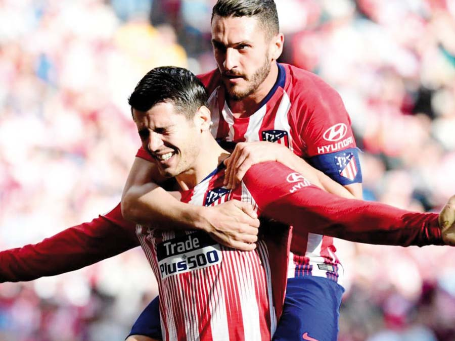 Atlético Madrid derrotó 2 – 0 a la Real Sociedad