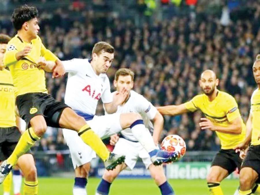 Borussia Dortmund recibirá hoy a Tottenham