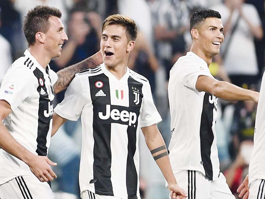 Juventus derrotó 2 – 1 al Napoli