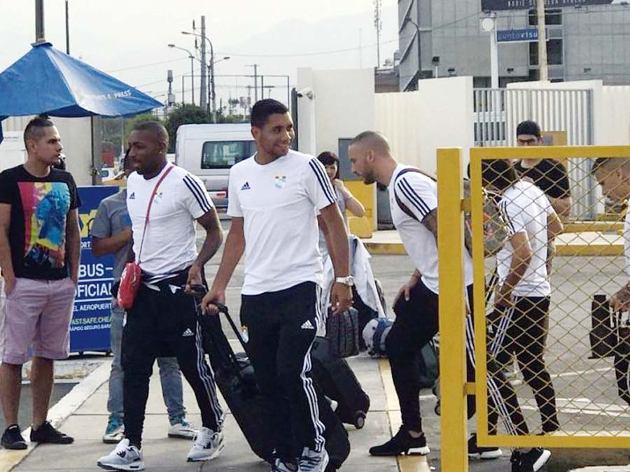 Sporting Cristal rumbo a Chile