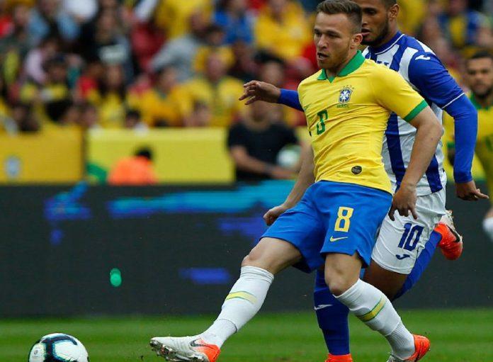 Brasil aplastó 7 – 0 a Honduras