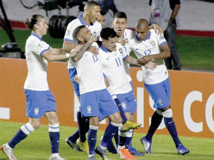 Brasil goleó 3-0 a Bolivia en la inauguración de la Copa América